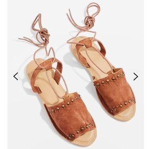 TOPSHOP Studded Sandals